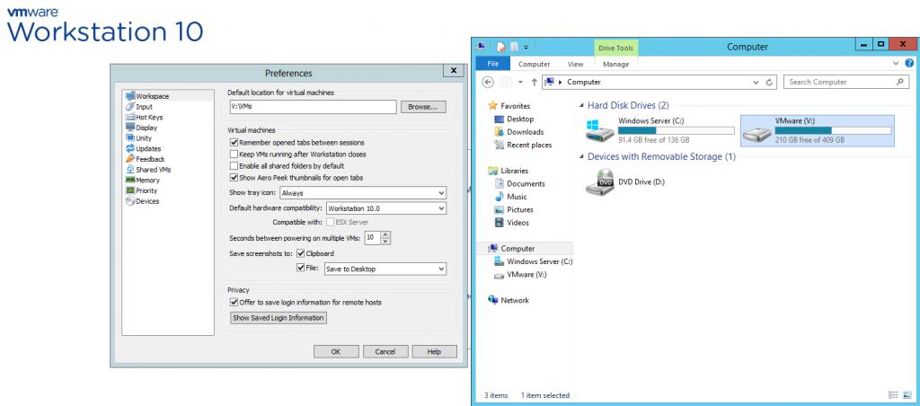 VMware Setup